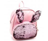 Рюкзак для девочек Cappuccino Toys EARS CT2047.277 розовый