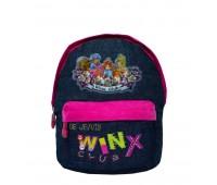 Рюкзак  для девочек Cappuccino Toys Winx CT62428.277 синий с малиновым