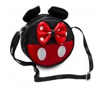 Сумка детская для девочек Мини Маус Cappuccino Toys CT7216.277 черная