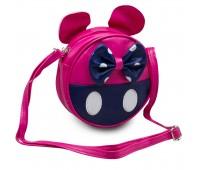 Сумка детская для девочек Мини Маус Cappuccino Toys CT7216.277 малиновая