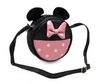 Сумка детская для девочек Cappuccino Toys Мини Маус  CT7215.277 черная с  розовым