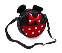 Сумка детская для девочек Cappuccino Toys Мини Маус CT7215.277 черная с красным