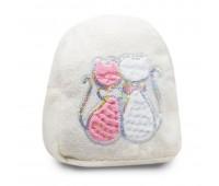 Рюкзак детский меховой Cappuccino Toys Кошки CT7018.277 белый