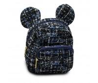 Рюкзак детский для девочек Cappuccino Toys Ушки Мики Мауса CT7020.277 черный