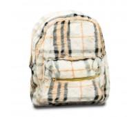 Рюкзак детский меховой для девочек Cappuccino Toys CT7019.277 белый