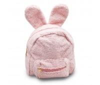 Рюкзак детский меховой с ушками Cappuccino Toys CT7016.277 розовый