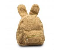 Рюкзак детский меховой с ушками Cappuccino Toys CT7016.277 бежевый