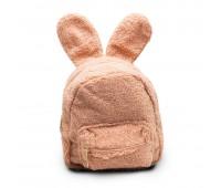 Рюкзак детский меховой с ушками Cappuccino Toys CT7016.277 пудровый