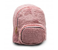 Рюкзак детский для девочек меховой Cappuccino Toys CT7009.277 розовый