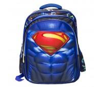 Рюкзак школьный Супермен Superman Xiang Huang на колесах