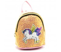Рюкзак детский дошкольный Единорог для девочек Cappuccino Toys CT1965-1.277 золотой