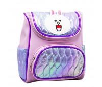 Рюкзак дошкольный для девочки Кролик Cappuccino Toys CT7161.277 фиолетовый