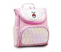 Рюкзак дошкольный для девочки Кролик Cappuccino Toys CT7161.277 розовый