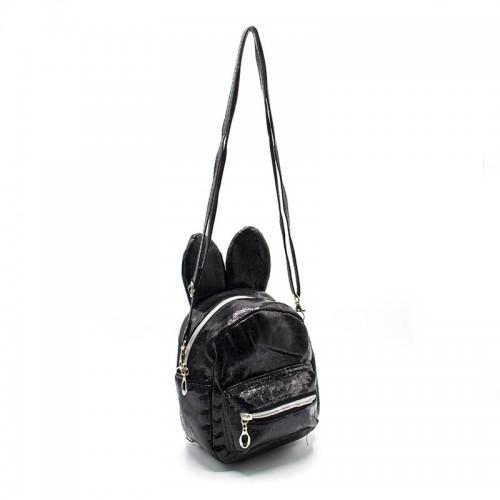 Cумка-рюкзак детская для девочек Cappuccino Toys CT8280.277 черная
