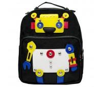 Рюкзак детский Cappuccino Toys Робот CT4352.277 черный