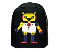Рюкзак детский Cappuccino Toys Робот CT4354.277 черный
