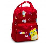 Детский дошкольный рюкзак Cappuccino Toys CT7149.277 красный
