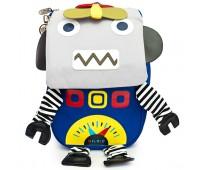 Детский дошкольный рюкзак Робот Cappuccino Toys CT7139.277 синий