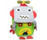 Детский дошкольный рюкзак Робот Cappuccino Toys CT7139.277 зеленый