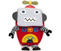 Детский дошкольный рюкзак Робот Cappuccino Toys CT7139.277 красный