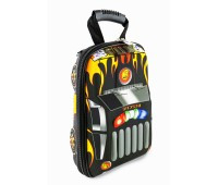 Рюкзак дошкольный Cappuccino Toys 938-mini 3D Гоночная машина черный