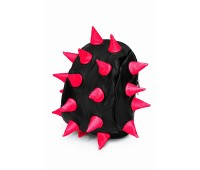 Рюкзак Aimina Rex Рекс черный с розовыми шипами маленький (A-06bl-pink)
