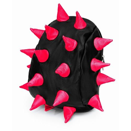 Рюкзак Aimina Rex Рекс черный с розовыми шипами большой (A-08bl-pink)