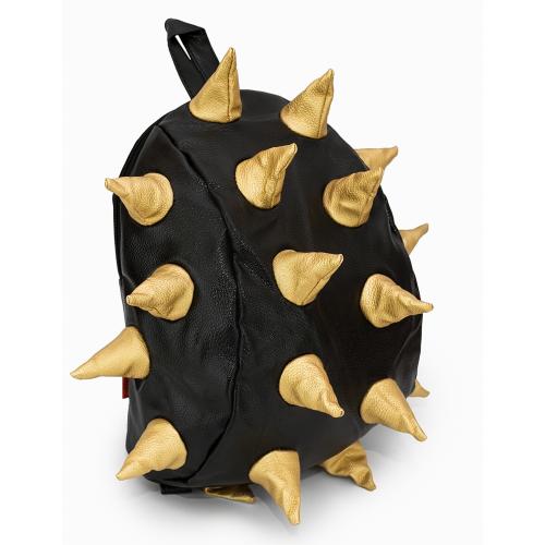 Рюкзак Aimina Rex Рекс черный с золотыми колючками большой (A-07bl-gold)