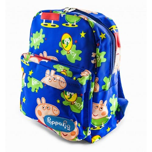 Рюкзак Cappuccino Toys Свинка Пеппа Peppa Pig дошкольный синий (CT-01PP-blue)