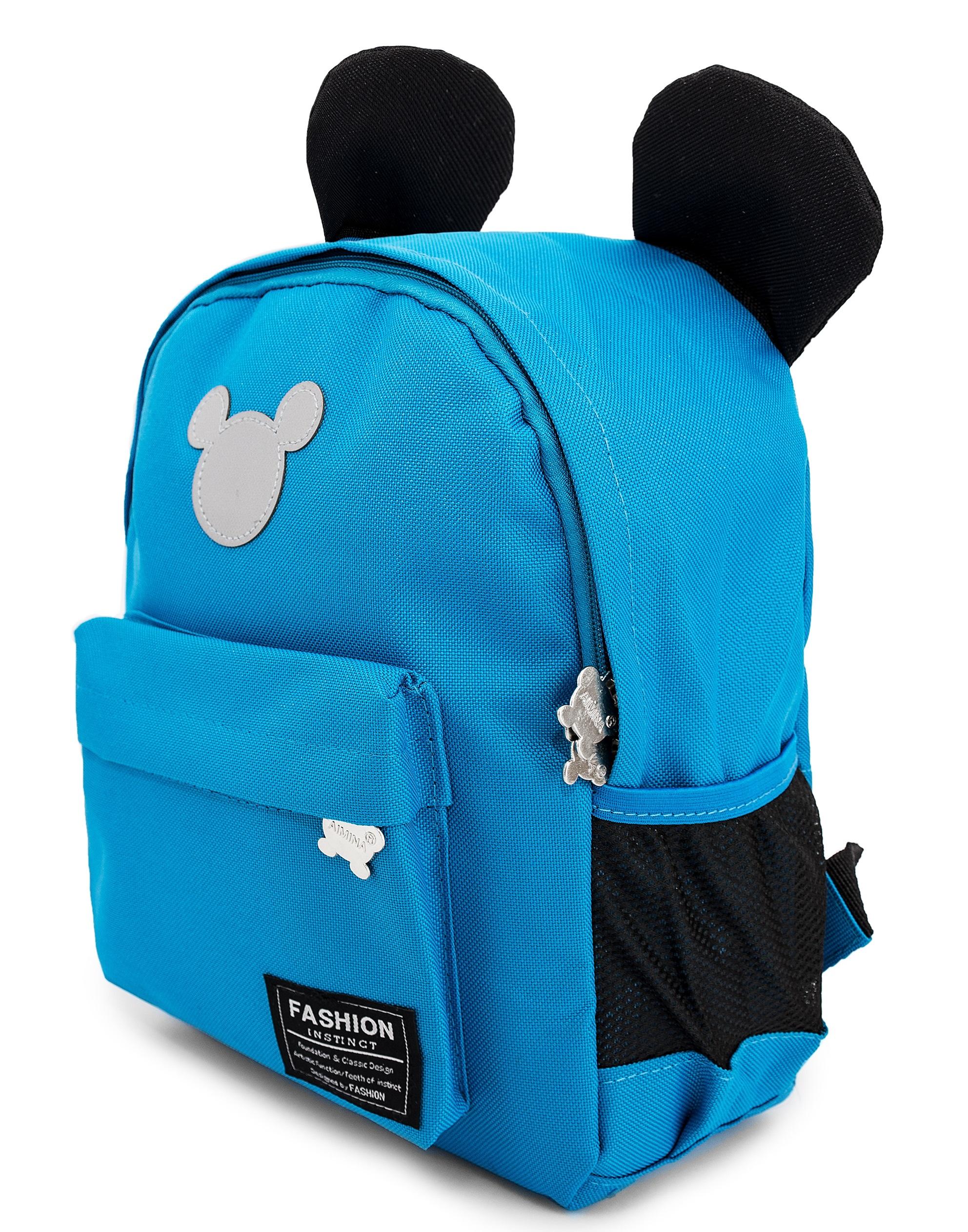 5343be5e8484 Вместительный дошкольный рюкзак выполнен в стилистике Микки Мауса. Для  деток от 3 до 6 лет. В рюкзаке одно большое отделение с разделителем для  тетрадей и ...